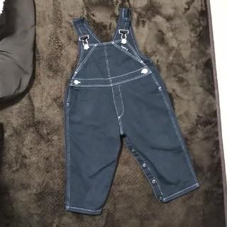 アニエスベー(agnes b.)のagnes b. オーバーオール サイズ90程度 ベビー服(パンツ/スパッツ)