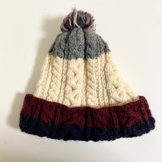 ビームスボーイ(BEAMS BOY)のBEAMS BOY WARREN SCOTT ケーブル&リブ ニット帽(ニット帽/ビーニー)