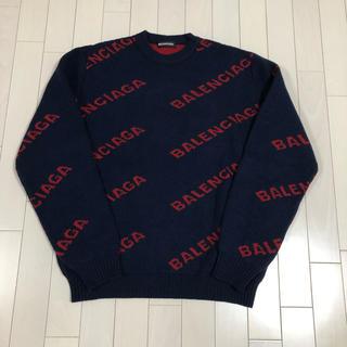 Balenciaga - 【新品未使用】M バレンシアガ ロゴ ニット