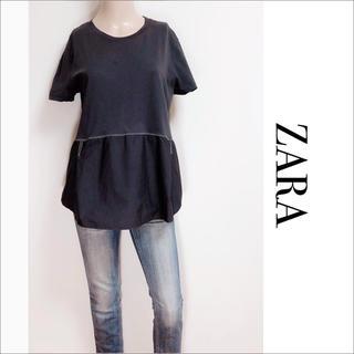 ZARA - ZARA 切り替え Tシャツ カットソー♡ベルシュカ H&M ANAP SLY