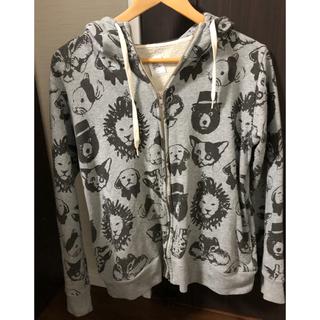 Design Tshirts Store graniph - ユニセックスZIPパーカー S size