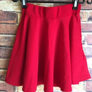 赤スカート(ミニスカート)