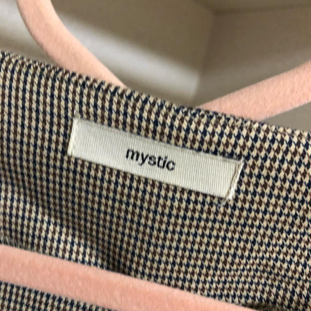 mystic(ミスティック)のmystic ハトメシャーリングガウン レディースのワンピース(ロングワンピース/マキシワンピース)の商品写真