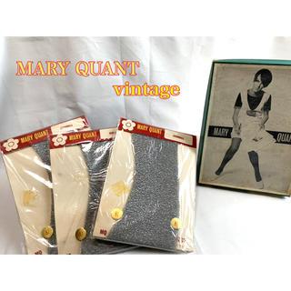 マリークワント(MARY QUANT)のMARY QUANT デッドストック ヴィンテージ ラメストッキング 8 1/2(タイツ/ストッキング)