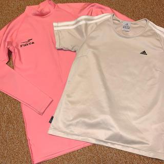 アディダス(adidas)のフィンタ 長袖インナー160とアディダス Tシャツセット (ウェア)