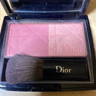 ディオール(Dior)のDior ディオールブラッシュ ビンテージピンク(チーク/フェイスブラシ)