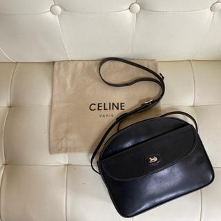 celine - 極 美品 CELINE オールド セリーヌ 馬車金具 ショルダー バッグ レザー