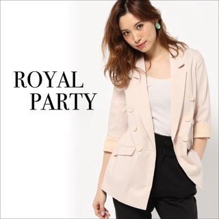 ロイヤルパーティー(ROYAL PARTY)のROYAL PARTY ダブル テーラードジャケット♡DURAS リエンダ(テーラードジャケット)