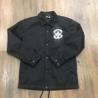 エクストララージ(XLARGE)のエクストララージ コーチ ジャケット 黒 FTC コラボ Sサイズ(ナイロンジャケット)