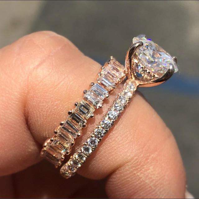 Victoria's Secret(ヴィクトリアズシークレット)の高品質シルバーリングS925★アメリカ直輸入 レディースのアクセサリー(リング(指輪))の商品写真