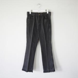 fumika uchida センタープレスブラックデニム size 34