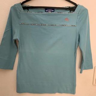 BURBERRY BLUE LABEL - バーバリー ブルーレーベル のカットソー 七分袖