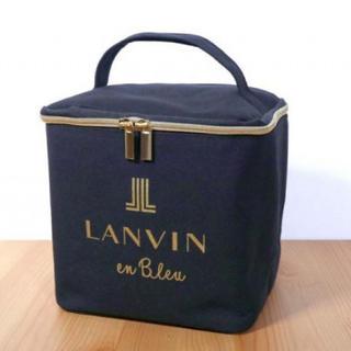 sweet スウィート 1月号付録 LANVIN en Bleu マルチボックス(メイクボックス)