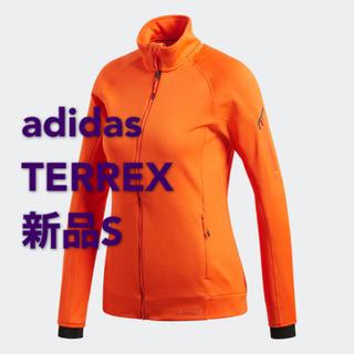 アディダス(adidas)の【新品】Sサイズ アディダス adidas アウトドア フリースジャケット(登山用品)