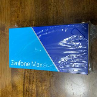 エイスース(ASUS)の新品 保証付 ASUS Zenfone Max M1 ルビーレッド SIMフリー(スマートフォン本体)
