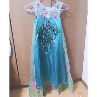 アナトユキノジョオウ(アナと雪の女王)の☆アナと雪の女王☆エルササプライズドレス(衣装)
