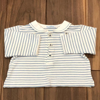 familiar - ファミリア 長袖 シャツ 70センチ