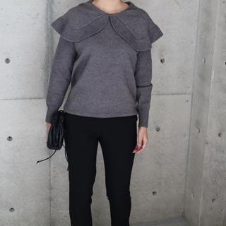 DEUXIEME CLASSE - ella_selectshop  big collar knit