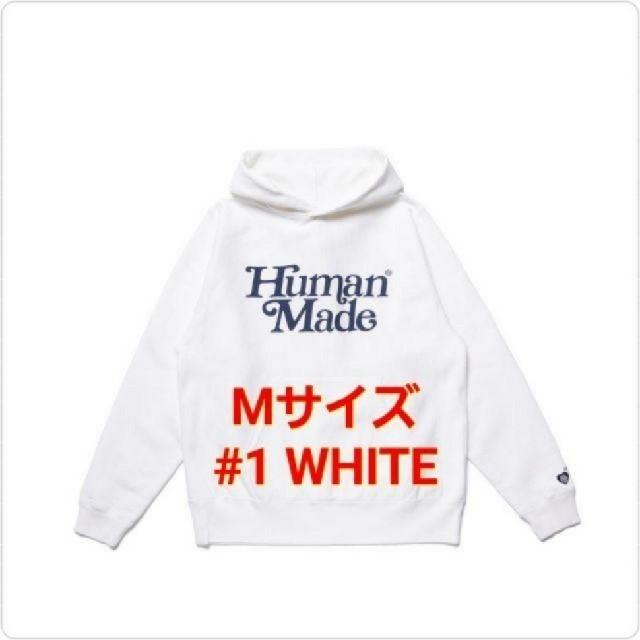 GDC(ジーディーシー)のGDC PIZZA HOODIE GDC #1 WHITE / M ① メンズのトップス(パーカー)の商品写真