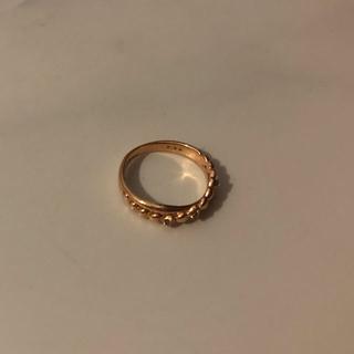 ピンキーリング ダイヤモンド ☆美品(リング(指輪))