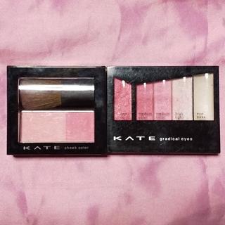 ケイト(KATE)の即購入OK♡KATE チーク&アイシャドウセット(アイシャドウ)