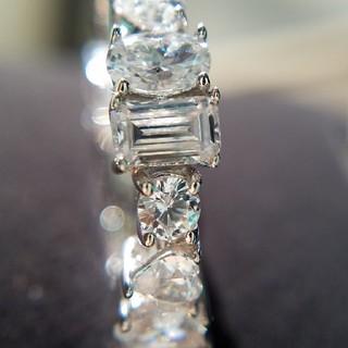 HARRY WINSTON - 新作!マルチシェイプフルエタニティリング 最高級sonaダイヤモンド