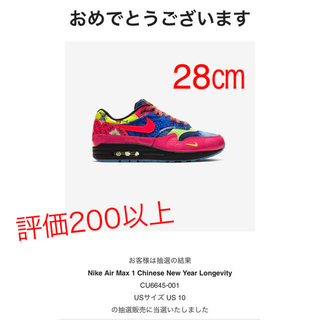 NIKE - nike air max1 chinese new year SNS当選 正規品