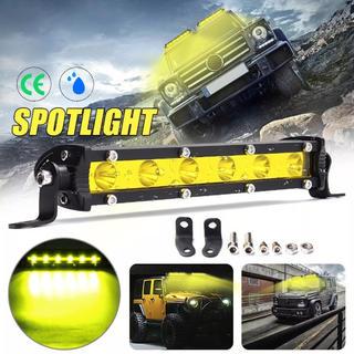 LED ライトバー 作業灯 フォグランプ レモン イエロー ワークライト アメ車