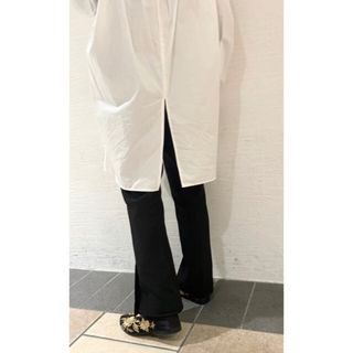 mystic - ミスティック 新品 タグあり シャツ バックスリットロングシャツ