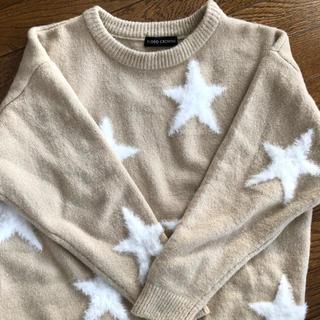 RODEO CROWNS - お値下げ  ロデオクラウンズ    星モコモコセーター