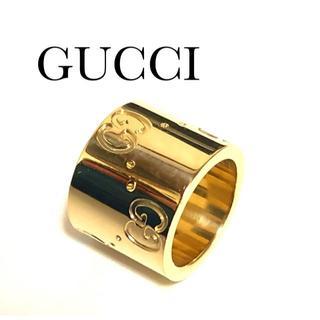 Gucci - グッチ GUCCI K18YG GGロゴ ペンダント トップ チャーム