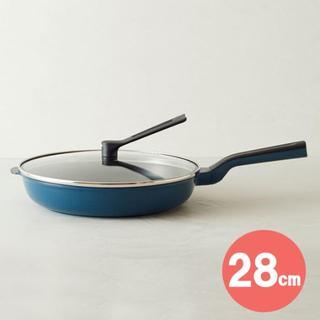 【新品未使用】平野レミ レミパン ワイド 28㎝ ネイビー RHF-503(鍋/フライパン)