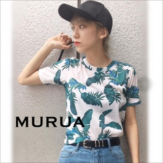 MURUA - MURUA アロハリーフ Tシャツ♡EGOIST ANAP GYDA マウジー