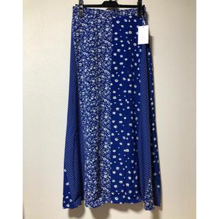 UNITED ARROWS - ユナイテッドアローズフラワードットプリントスカート
