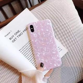 【新品】iPhoneXケース ピンク