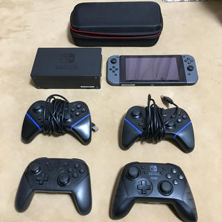 Nintendo Switch - Nintendo Switch グレー + コントローラ+専用ケース付き