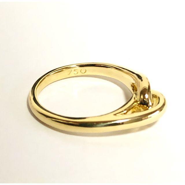 Tiffany & Co.(ティファニー)のティファニー TIFFANY K18YG インフィニティ リング レディースのアクセサリー(リング(指輪))の商品写真
