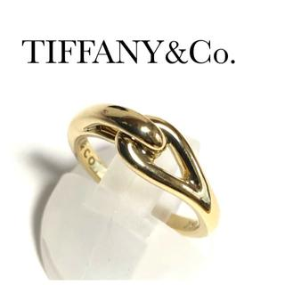 Tiffany & Co. - ティファニー TIFFANY K18YG インフィニティ リング
