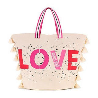 Victoria's Secret - 新品 ビッグ トートバッグ 特大サイズ LOVE BAG