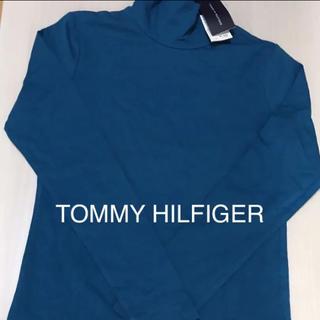 TOMMY HILFIGER - TOMMY HILFIGER❤︎ブルーハイネック 新品