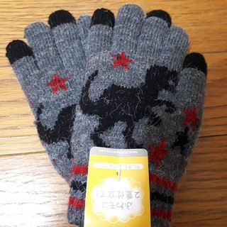 マザウェイズ(motherways)の[新品未使用]マザウェイズ 手袋 Mサイズ 恐竜 男の子(手袋)