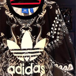 adidas - アディダス オリジナルス ファーム コラボ 孔雀 スウェット SM トレーナー