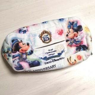 Disney - ディズニーシー 15周年 ティッシュケース