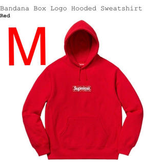Supreme - Bandana Box Logo Hooded Sweatshirt M