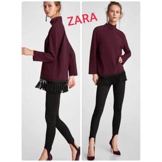 ZARA - ザラ ハイネック トップス ワンピース