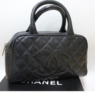 CHANEL - 確実正規品 シャネル キャビアスキン バッグ