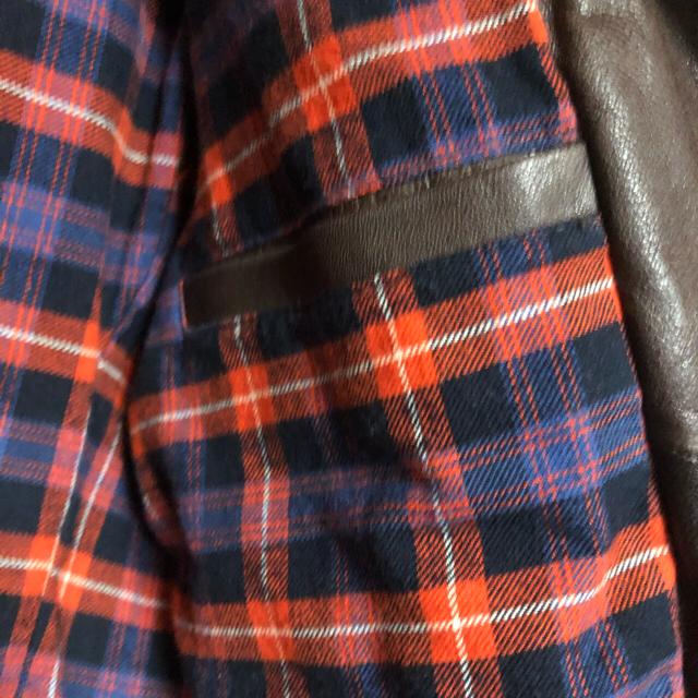 R.NEWBOLD(アールニューボールド)のRニューボールド【ライダースジャケットL】ポールスミス 革ジャン (茶) メンズのジャケット/アウター(ライダースジャケット)の商品写真