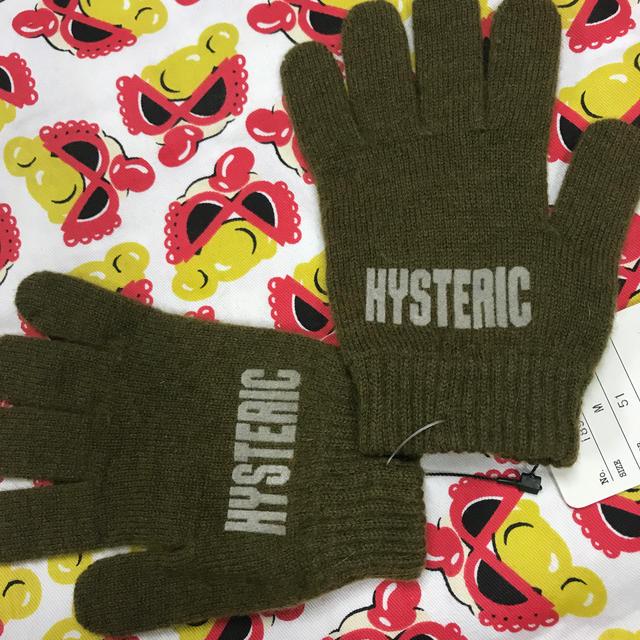 HYSTERIC MINI(ヒステリックミニ)のヒスミニ  sizeM  手袋  新品タグ付 キッズ/ベビー/マタニティのこども用ファッション小物(その他)の商品写真