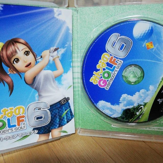 PlayStation3(プレイステーション3)のPS3 みんなのGOLF 6 エンタメ/ホビーのゲームソフト/ゲーム機本体(家庭用ゲームソフト)の商品写真