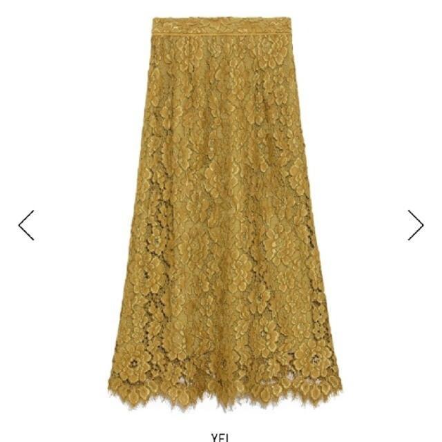 FRAY I.D(フレイアイディー)のコードレーススカート レディースのスカート(ロングスカート)の商品写真